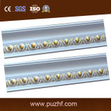 Common -Use PU Polyurethane Foam Carved Crown/Cornice Moulding for Interior Decoration
