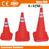 Red Base ABS Plastic Retractable Traffic Cone (RTC-30)