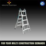Multi-Purpose Folding Aluminum Scaffolding Ladder