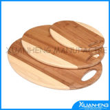 Green Bamboo Meat Chopping Board Set