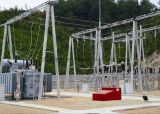 Substation Steel Structure (ZD-ST-1003)
