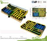 Commercial Indoor Trampoline Park, Safety Netting Trampoline for Children