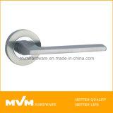 Stainless Steel Door Handle on Rose (S1006)