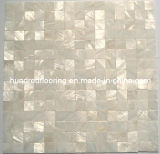White Mother of Pearl Shell Mosaic Tile (HMP69)