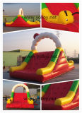 Outdoor Caterpillar Inflatable Slide with Climbing for Kids