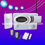 GSM,Pstn Combined Wireless Intruder,Burglar Alarm System for Home Security (BT-108GSM)