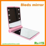 LED Mirror, Cosmetic Mirror With 8LEDs Light (LD-6043)