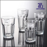 USA Glass Cup& Clear Glass Tumbler/Rock Water Cup (GB03017811)