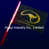 Custom LED Light up Hand Flag Sticks for Party Favor