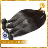 Hot Selling Good Quality Natural Color Silky Straight 100% Virgin Remy Peruvian Human Hair Weft