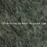 Natural Stone Tropical Green Granite for Countertop, Tile, Slab, Headstone