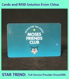 Cat Salon Card Made Plastic with Magnetic Stripe