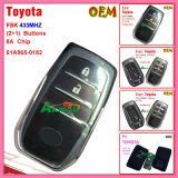 for Toyota Fsk 315MHz Remote Key with 8A Chip 61A965-0182