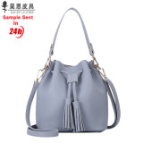 Guangzhou Factory 2018 New PU Leather Fashion Designer Women Female Tote Ladies Handbag