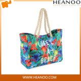 2016 New Design High Quality Ladies Fashion Canvas Beach Bag