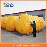 Inflatable Plastic Pontoon / Marine Underwater Air Lift Bag