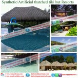 Caribbean Natural Look Fireproof Synthetic Thatch Roof for Maldives Resort