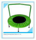 36 Inch Mini Round Indoor Trampoline with Handle for Children