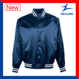 Healong Custom Logo Clothing Windbreak Men′s Baseball Jacket