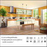 Acrylic MDF White Colour Kitchen Cabinet (FY957)