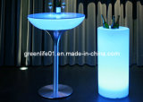 16colors, Rechargeable Gl-Lt-110 Nightclub Furniture, LED Cafe Table, LED Cocktail Table