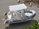 Liya Factory Direct Sale 19ft Fiberglass Sport Boats Motor Boat