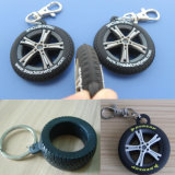 Tyre 3D Soft PVC Keychain (ASNY-LZ-PK001)