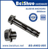 High Quality Hex Nut Stainless Steel Sleeve Anchor or Wedge Anchor