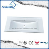 Modern Clean Bathroom Artificial Polymarble Basin
