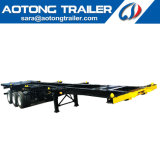 Used Tri-Axle 40FT Dual Combo Container Chassis for Philippines