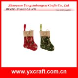 Christmas Decoration (ZY16Y133-5-6 14CM) Christmas Sock Store Christmas Special