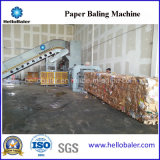 China Horizontal Cardboard Bale Baling Machine From Hellobaler Hfa6-8