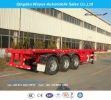 Fuwa 3axle 40FT Skeleton Trailer Container Chassis with Jost Kingpin