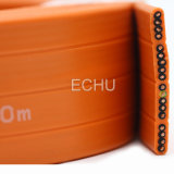 Flat Lift Cable for Elevator with Orange Jacket 18g0.75