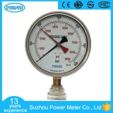 150mm Stainless Steel Case Manometer with Red Pointer