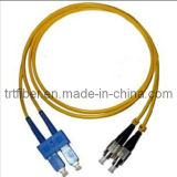 Sc/Upc-FC/Upc Duplex Fiber Optic Patch Cord