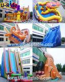 Commercial Grade Amusement park water slide Inflatable Slide