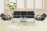 Modern Metal PU Office Sofa Set (9003)