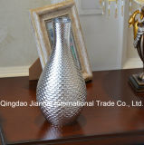 Long and Thin Creative Glass Bottle Flower Vase for Decoration