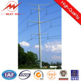 69kv 2016 Philippines 35FT Treated Galvanized Electric Steel Pole