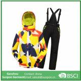 Children Ski Jacket+Pants Skiing Camping Riding Clothing