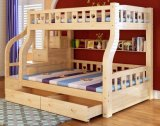 Solid Wooden Bed Room Bunk Beds Children Bunk Bed (M-X2206)