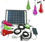 Solar Home Lights with Remote Controller/3W Portable Solar Lighting