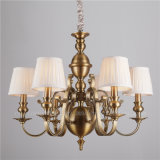 Iron Lighting Fixture with Fabric Decoration (SL2091-6)