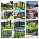 Galvanized Steel Picket Fence/Corten Steel Fence/ Metal Picket Fence