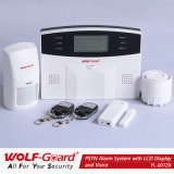 Cheap Phone Line Home Appliance Controlling Intruder Alarm System with LCD Display
