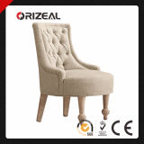 19th C. Upholstered Slipper Chair