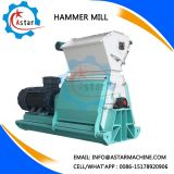 Biomass Hammer Mill Use in Wood Pellet Line