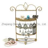Cage Type Iron Jewelry Display Shelf (wy-4443)