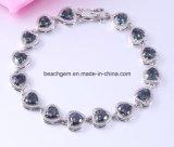 Jewellery-Brass Mystic Cubic Zirconia Bracelet